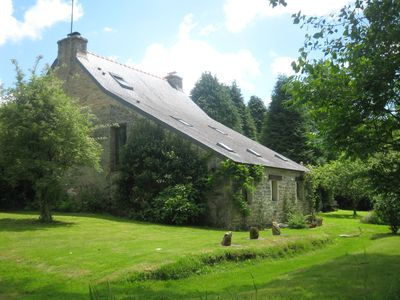 Set in a Large, Secluded Garden