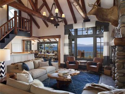 Photo for Lake House Compound Includes Main House, Boat House, Two Cabins, Private Beach, Pier