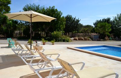 """Photo for Spacious Finca """"Can Menut"""" with Wi-Fi, Garden, Terraces & Pool; Parking Available"""