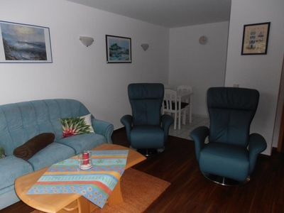 Photo for Duhner dune apartment 6, no smoking, wifi, lift, balcony, close to the beach