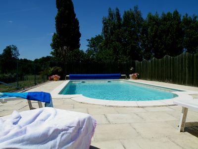 Photo for Cheerful Holiday Home With Heated Swimming Pool In The Loire Valley