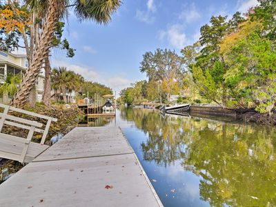 Photo for Canal Front Home w/ Dock & Access to Crystal River
