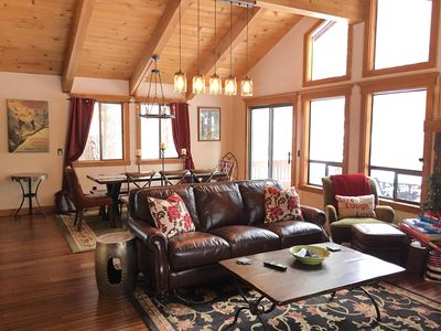 Photo for NEW LISTING: Charming Chalet-Style Cabin at Northstar - Close to Resort