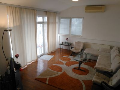 Photo for Comfortable apartment, great view to the city of Skopje