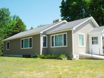 Photo for CUTE TORCH LAKE COTTAGE JUST NORTH OF ALDEN WITH TORCH lAKE FRONTAGE