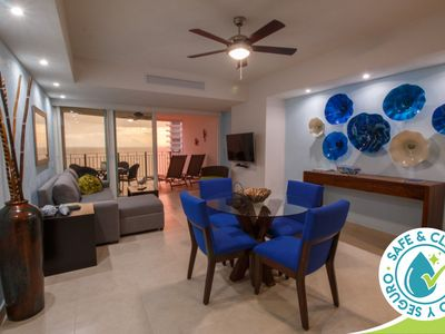 Photo for Oceanfront Condo | Relax on Private Balcony, Swim in Infinity Pools