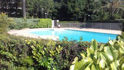 Photo for Cannes Center. 5 minutes walk to the Croisette beaches. Park -Swimming Pool