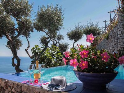 Photo for Villa with swimming pool and privacy in Positano