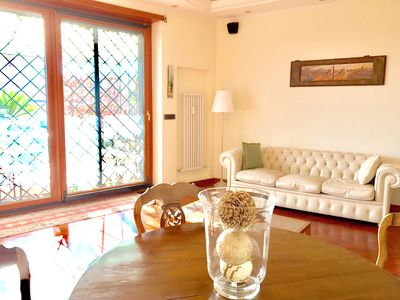 Photo for Penthouse with terrace just minutes from St. Peter's and Vatican Museums