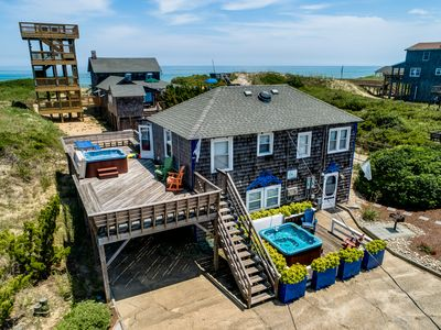 Photo for The Carriage House I (Upper) | 95 ft from the beach | Dog Friendly, Hot Tub