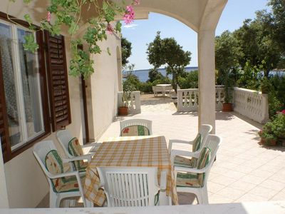 Photo for Two bedroom apartment near beach Šimuni (Pag)