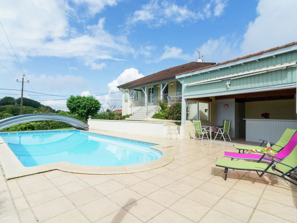 Detached Holiday Home With Private Swimming Pool And Beautiful View In Southern France Saint