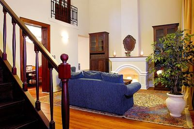 Living room - view from entry foyer