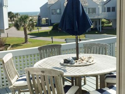 Photo for Great 3 Bedroom Ocean View Villa. Beach Access. Like Home with 2 Golf Carts