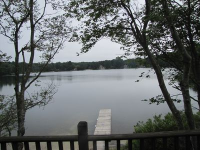 Photo for Waterfront Cottage On Micajah Pond