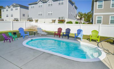 Photo for *MAY DISCOUNTS* FREE LINENS! Private Pool, Close to Beach