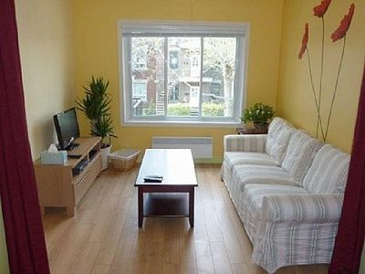 Photo for Apartment in Montreal with Internet, Air conditioning, Terrace, Washing machine (375473)
