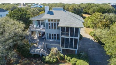 Beautiful, Professionally Decorated Second Row Beach Home