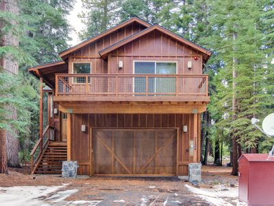 Photo for Deluxe West Shore home w/beautiful deck - half-mile to beach & 10 min. to skiing