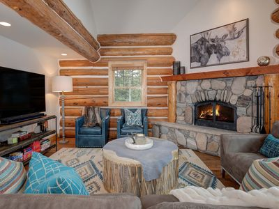 Photo for NEW TO VRBO! Luxury Modern Cabin With Ski Access & Private Hot Tub