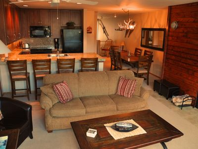 Photo for Sunny Views, Convenient Location, Hot Tub & Shuttle (Winter)!