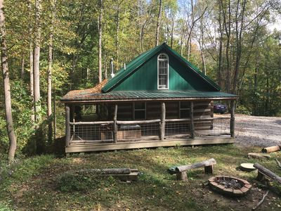 Photo for Montana Cabin in Hocking Hills and Wayne National Forrest between Logan & Athens