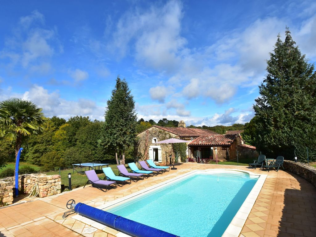 Beautiful House With Swimming Pool And Homeaway Saint Cernin De L 39 Herm