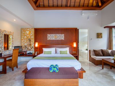Photo for Spacious Two Bedroom Deluxe Villa in Jimbaran with a private pool
