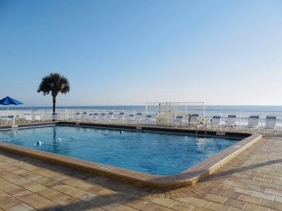 Photo for Beach View East Winds Condo- Sleeps 6- No Drive Beach