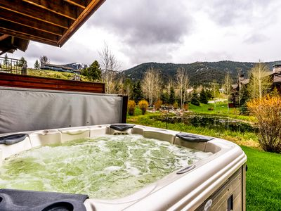 Photo for Budget-friendly condo w/ private hot tub & shared pool