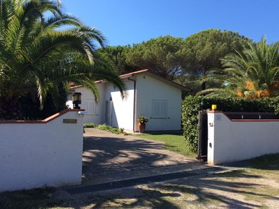 Photo for Lacona, 80 meters from the beach house in the park
