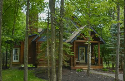 Photo for Log Home with Indoor Hot Tub Close to Activities