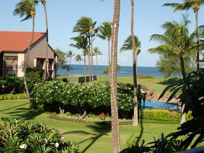 Photo for Fabulous Oceanfront/Ocean view condo! Free Wifi, A/C, Parking, Private Lanai!