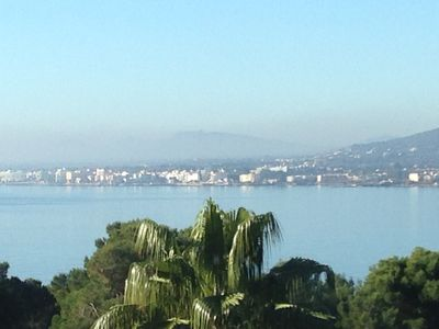 Photo for Very private villa with superb seaviews and palm garden. Pet friendly.
