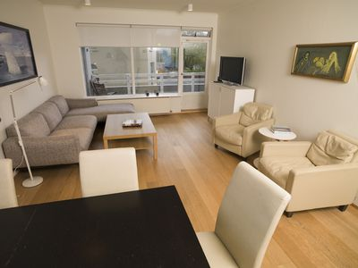 Photo for Beautiful central apartment close to the city center and the ocean