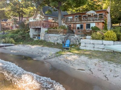Photo for 5 Bedroom Waterfront Cottage Overlooking Georgian Bay can Accommodate up to 10 People.