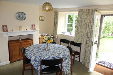 Dining Room with view of front garden