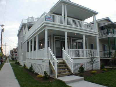 Easy walk to the beach, boardwalk and downtown eateries from this 3 BR, 2BA first floor condo. Great breezy location at the corner of 13th and Central, come enjoy the sun at the shore!