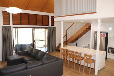 Blissful Banksia 534 Ocean Views 3 Bed 2 Bathroom 2 Decks At Kingfisher Bay Fraser Island