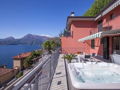 Photo for 1BR Apartment Vacation Rental in Varenna (Fiumelatte)