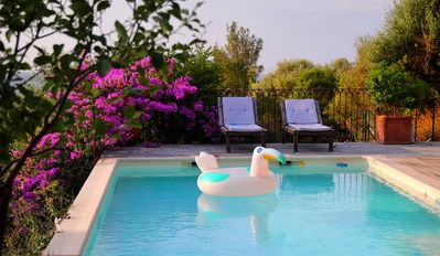 Photo for Pretty house with private pool and air conditioner