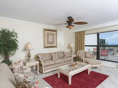 Photo for Saida IV 401 - Beachfront Corner Unit with Breathtaking Ocean Views from Condo & Private Balcony
