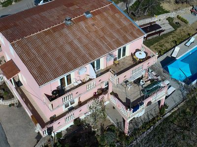 Photo for Atractive villa - apartment with private swimming pool in quiet area, 8 bedrooms