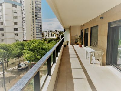 Photo for Modern apartment with big terrace