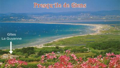 Photo for Gite classified, feet in the water on the peninsula of Giens / Hyères