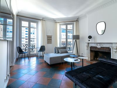 Photo for La Guitare 33 - Nice and spacious 1BR apartment in center of Cannes, right behind Grand Hotel