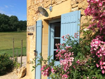 Photo for Country apartment in the heart of the Dordogne - small, beautiful, sunny