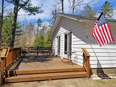 Photo for Burrow: 3  BR, 1  BA House in Glen Arbor, Sleeps 6