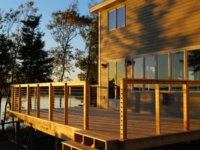 Photo for Reserve Your 2020 Get-a-way Today! Incredible Views with 500' Private Shore.