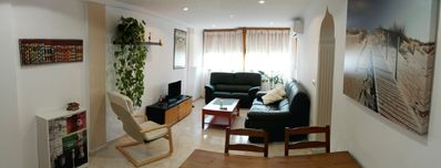 Photo for SPACIOUS AND LUMINOUS APARTMENT VERY CLOSE TO THE BEACH.